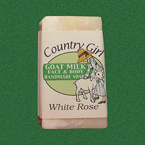 White Rose Soap